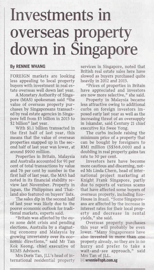 The Straits Times-May 16 2015